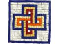 Mosaic Kit - Solomon's Knot Square