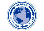 "3"" Circle Reduce Reuse Recycle Stickers"