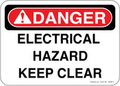 "5 x 7"" Danger Electrical Hazard"