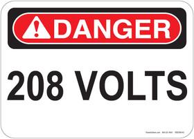 Danger 208 Volts