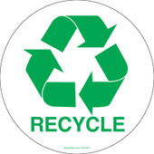 "6"" Recycling Circle  Decals"
