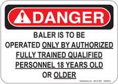 """5 x 7"""" BALER Decal"""