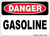 "5 x 7"" Danger Gasoline Decal"