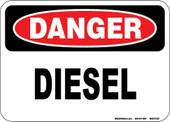 "5 x 7"" Danger Diesel Decal"