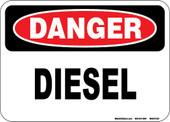 """5 x 7"""" Danger Diesel Decal"""