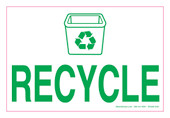 "4 x 6"" Recycle Decal"