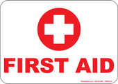 "5 x 7"" First Aid Decal"