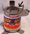 Snap on Stove reusable for Cook and Heat Cans