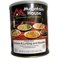Chicken A La King Mountain House Freeze Dried Food #10 can