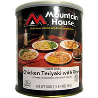 Chicken Teriyaki with Rice Mountain House Freeze Dried Food
