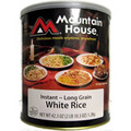White Rice, Instant Mountain House Freeze Dried Food
