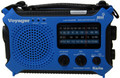 Voyager Dynamo/ Solar Powered AM/FM/SW/Weather Radio with Reading light.