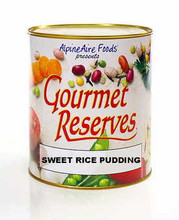 Sweet Rice Pudding Gourmet Reserves Freeze Dried Food