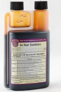 Io Star Iodine Sanitizer 16 oz