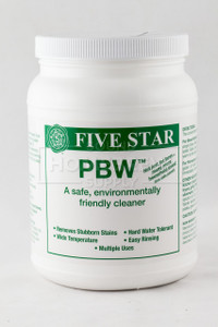 Powdered Brewery Wash (PBW) 4 lb