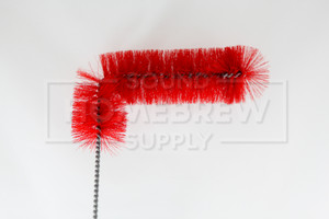 Brush, Soft Red Bristle Carboy
