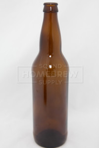 Bottle, Beer - Amber 22 oz (case of 12)