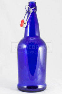 Bottle, EZ Cap - Cobalt Blue 1 L (case of 12)