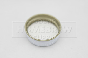 Screw Cap, Metal 38 mm (each)