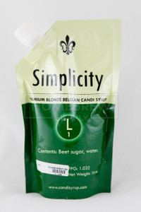 Belgian Candi Syrup - Simplicity (Clear) 1 lb