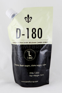 Belgian Candi Syrup - D180 (Extra Dark) 1 lb