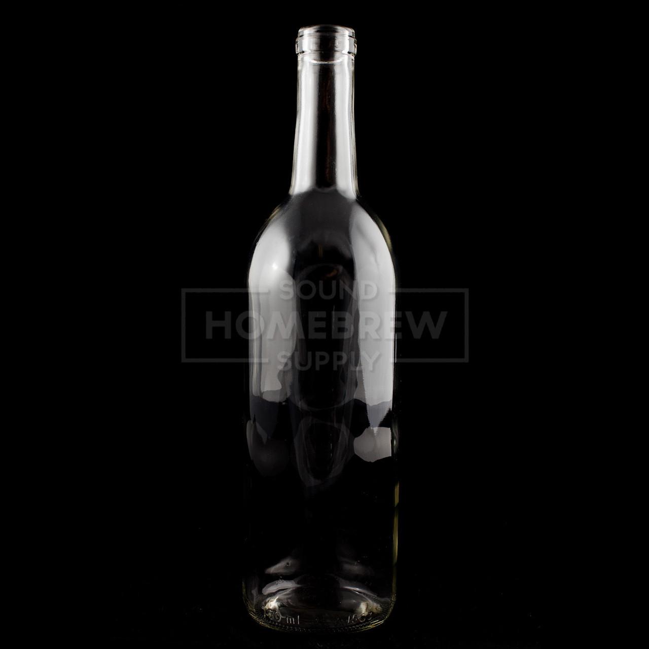 e72dd942588f Bottle - Flint (Clear) Claret (Bordeaux), Punted 750ml