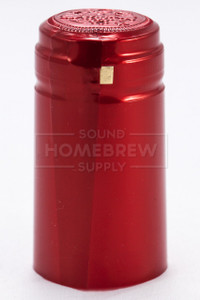 Shrink Capsules - Metallic Ruby Red
