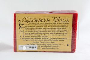 Cheese Wax - Red 1 lb