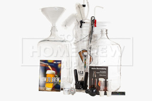 Starter Kit with Accessory Package & All Glass Fermenters