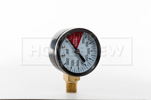 Regulator Gauge, 2000# LHT