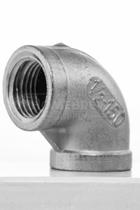 "Elbow, Stainless 1/2"" fpt"