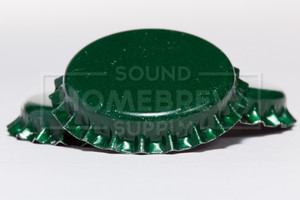 Bottle Caps, Green (50 ct)