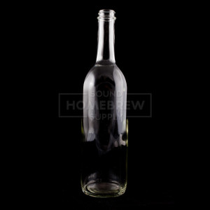 Bottle - Bordeaux Screw Top 750ml, Clear (case of 12)