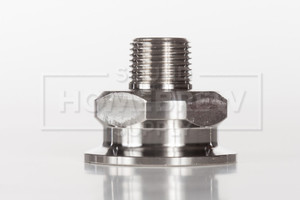 """Tri-Clamp, 1.5"""" to 1/2"""" npt"""