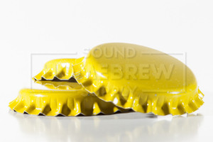 Bottle Caps, Yellow (50 ct)