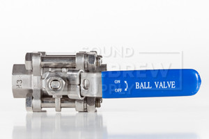 Ball Valve, Stainless 3 Piece