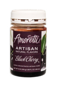 Black Cherry, Amoretti Artisan Fruit Puree