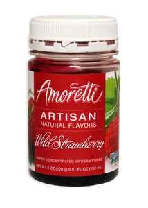 Wild Strawberry, Amoretti Artisan Fruit Puree