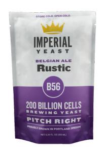 Rustic B56 Imperial Yeast