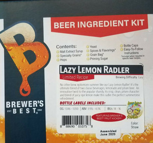 Brewer's Best Lazy Lemon Radler