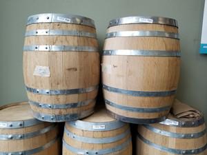 Oak Barrel New 5 Gal