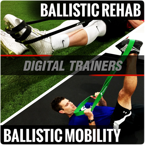 Ballistic Rehab and Mobility Stretch Digital Trainers