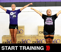 Cheer Tri Set training