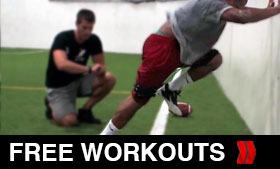 Click For Free Football Workouts