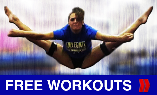 Free Cheerleading and Gymnastic Workouts