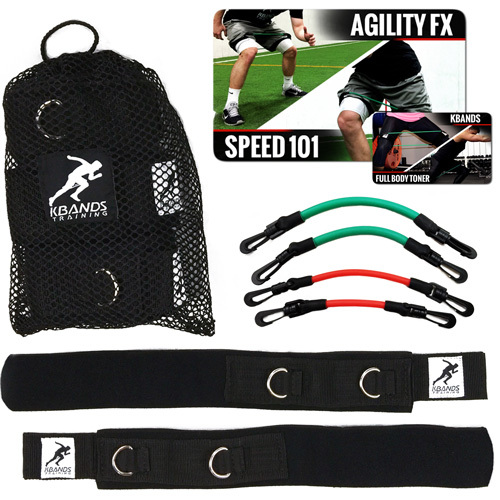 Add Kbands To Your Speed and Agility Ladder