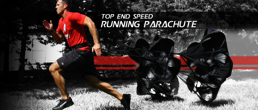 Kbands Top End Speed Running Parachute Progressive Workout