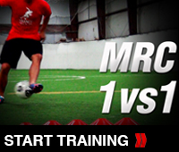 Offensive Soccer Training Drill