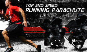 Running Parachute Includes