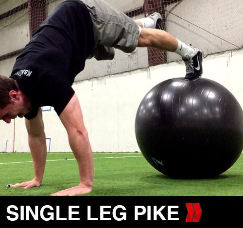 Single Leg Pike